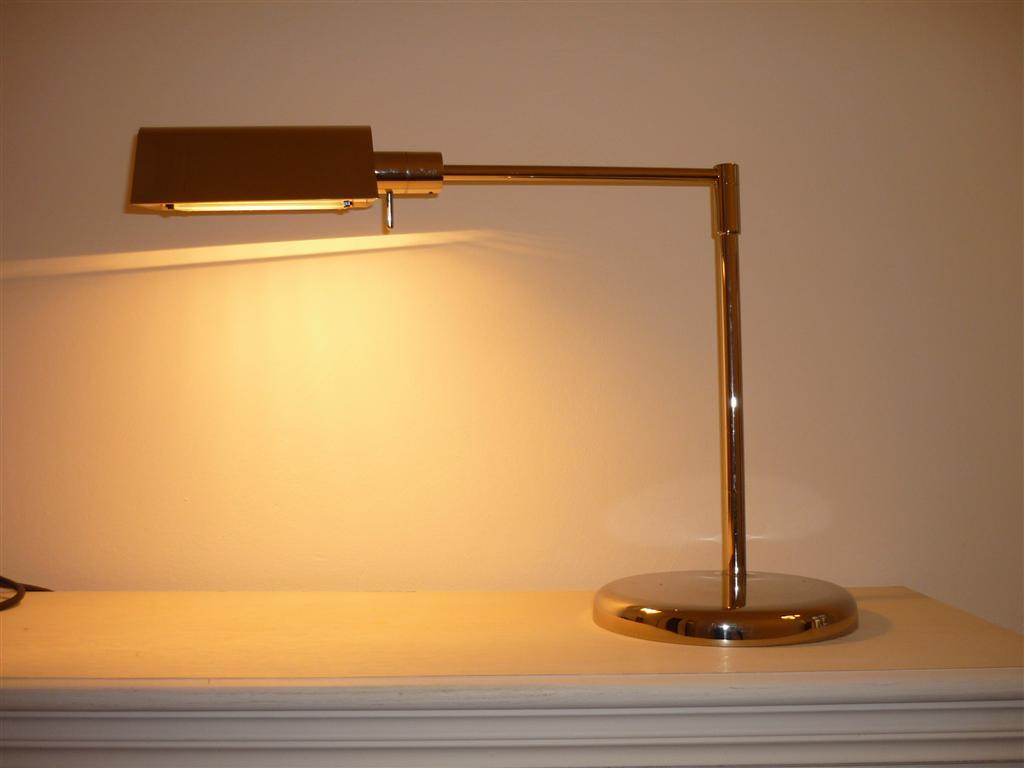 Fratelli martini lampe b rolampe chrom aus italien ebay for Lampen charlottenburg